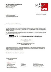 Zukunft der Hallenbder in Sindelfingen - MEIN ...