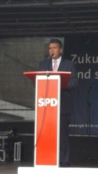 Sigmar Gabriel in Recklinghausen Rede