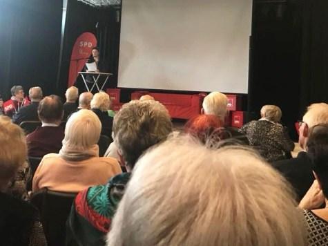 Neujahrsempfang SPD Waltrop 2018 Rede Kirsten Beughold
