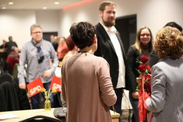 Mitgliederversammlung SPD Waltrop Rosen
