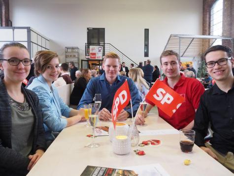 Neujahrsempfang SPD Waltrop 2019 Jusos-min