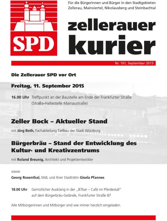Infoseite Zellerauer Kurier