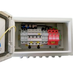 ip65 solar 2 in 1 out pv combiner box [ 1000 x 1000 Pixel ]