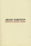 Complete Minimal Poems, Aram Saroyan