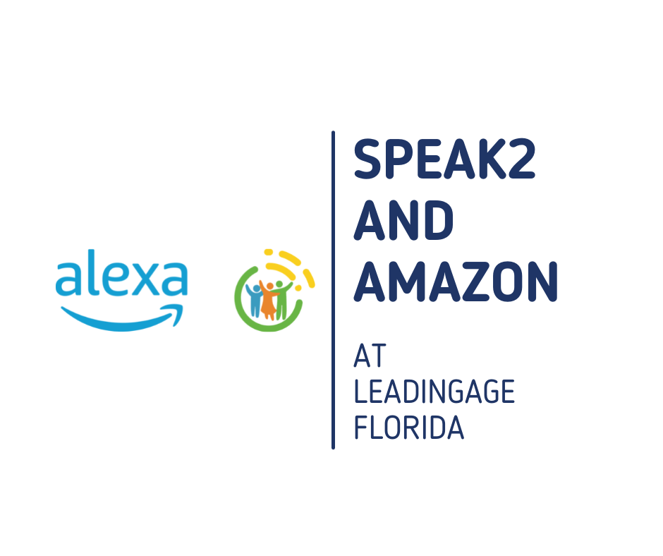 speak2 and amazon logo