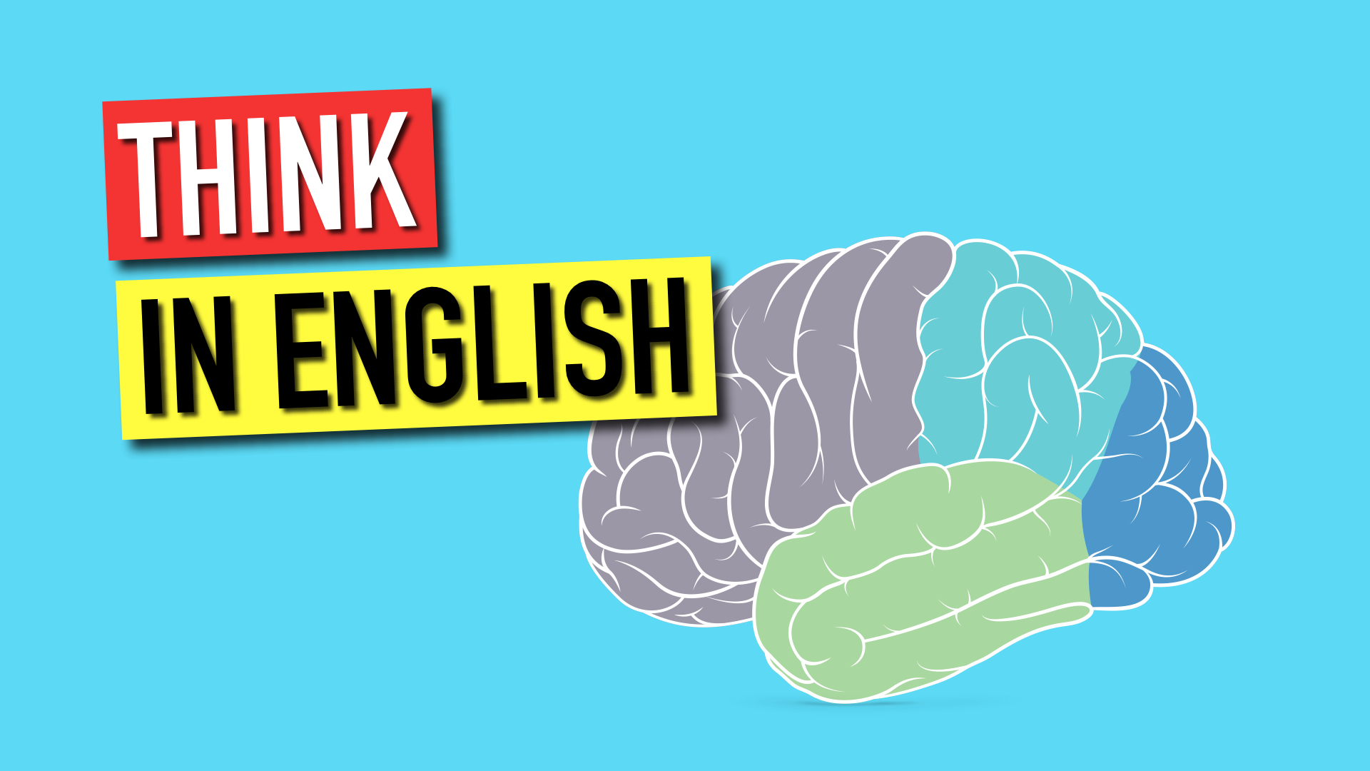 How to FINALLY think in English - Speak English with Tiffani