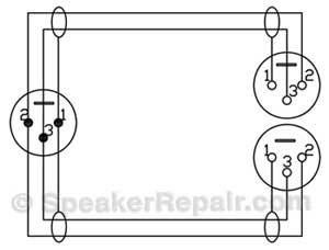 Balanced Xlr Wiring Diagram Wiring Diagram And Schematic