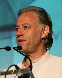 Bob Geldof Speaking