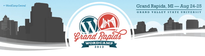 wordcamp grand rapids banner