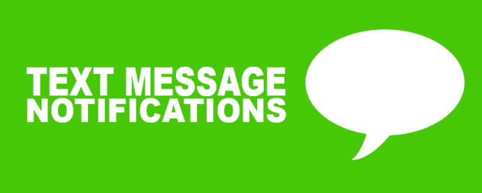 text message notifications banner