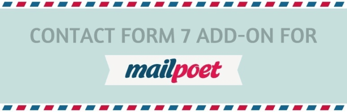 MailPoet Contact Form 7