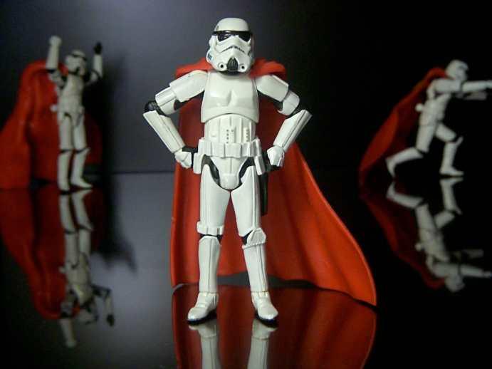Stormtrooper in a Cloak