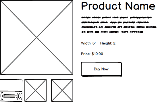 Gutenberg Product Page Dimensions