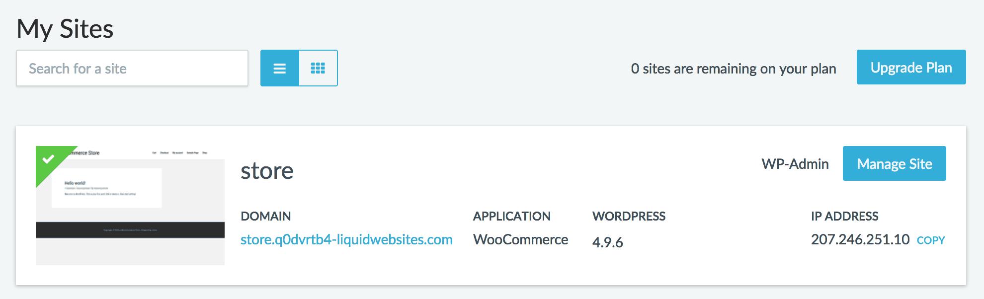 Liquid Web - Managed WooCommerce Hosting Review - Patrick's