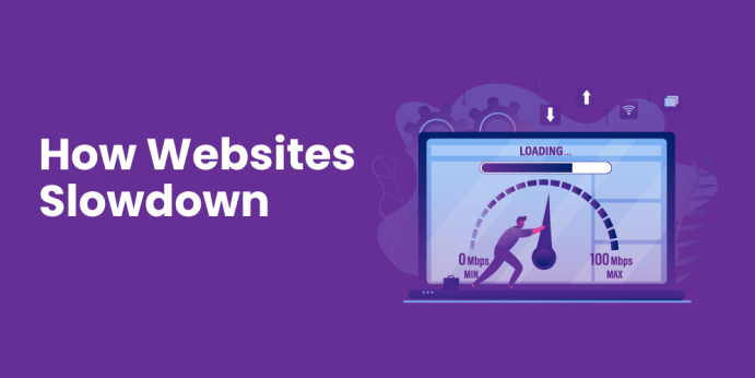How Websites Slowdown