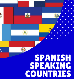 Spanish-Speaking Countries Spanish Class Activities and Resources - [ 1056 x 816 Pixel ]