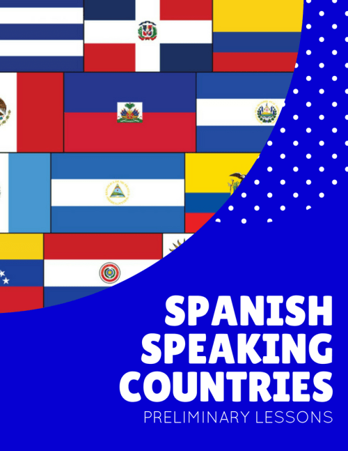 small resolution of Spanish-Speaking Countries Spanish Class Activities and Resources -