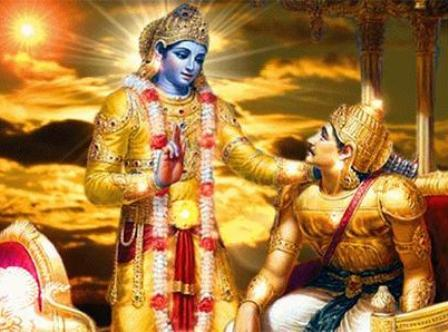 """Every action and deed of ours should be dedicated to Krishna"""