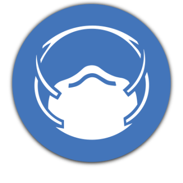 mask safety sign
