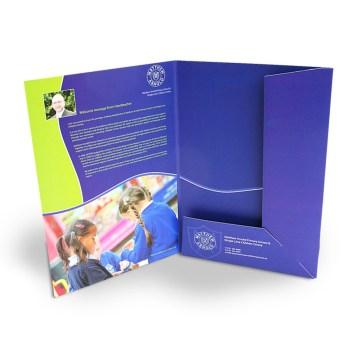 Branded Presentation Folders