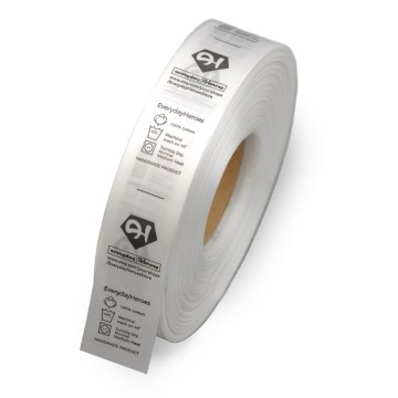 Thermal Printed Ribbon Clothing labels