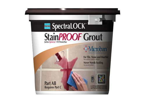 Stain Proof Grout SpectraLOCK PRO Grout From Laticrete