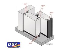 Making Folding and Sliding Doors Airtight with Door Seals