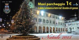 Maxi parcheggio Osimo Natale 2015