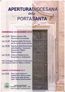 Apertura diocesana della Porta Santa