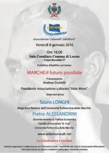 Marche: il futuro possibile