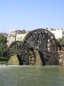 Noria sull'Oronte (Siria) - foto Wikipedia