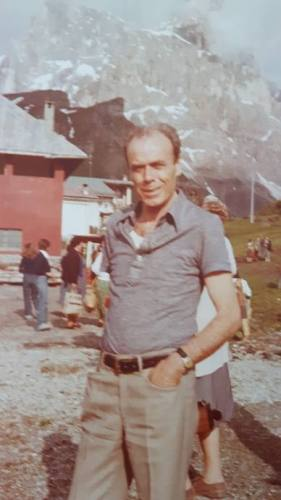 Augusto Castellani sui monti