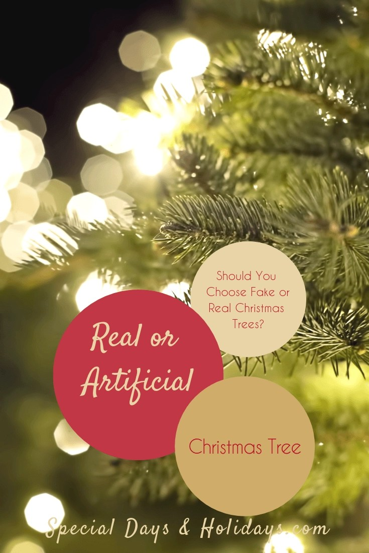 Real or Artificial Christmas Tree – Should You Choose Fake or Real Christmas Trees