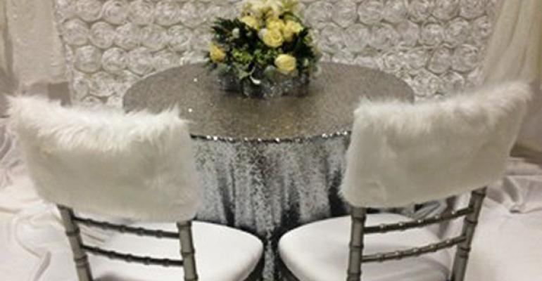 Faux Fur Chair Caps Underwater Photo Booth Luxury Tents