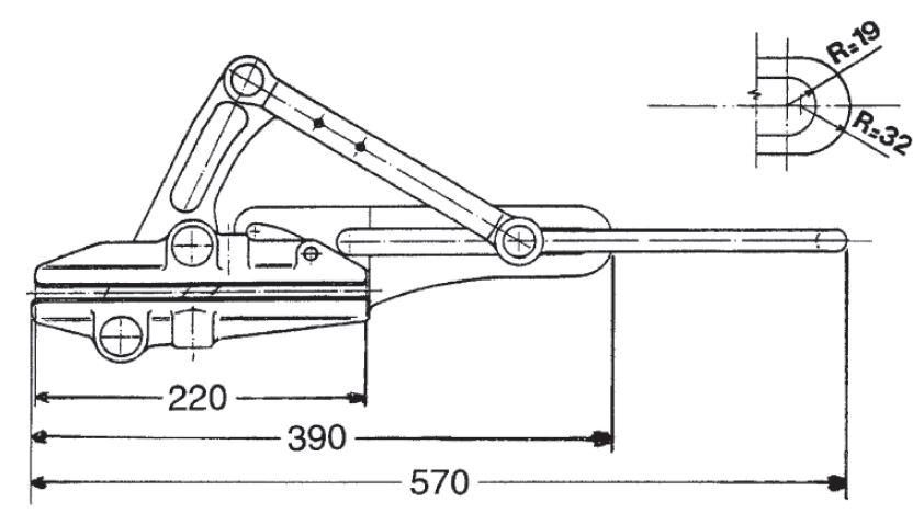 Powercom Riganti IR3112 Self-Gripping Clamp for OPGW