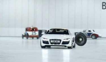 nouvelle pub audi r8 spyder- blog auto-auto actu specialist-auto