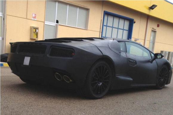 Lamborghini Cabrera Spyshots