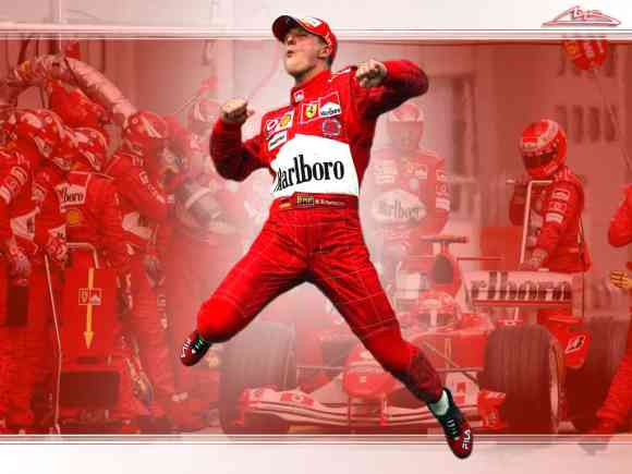 Michael Schumacher The best
