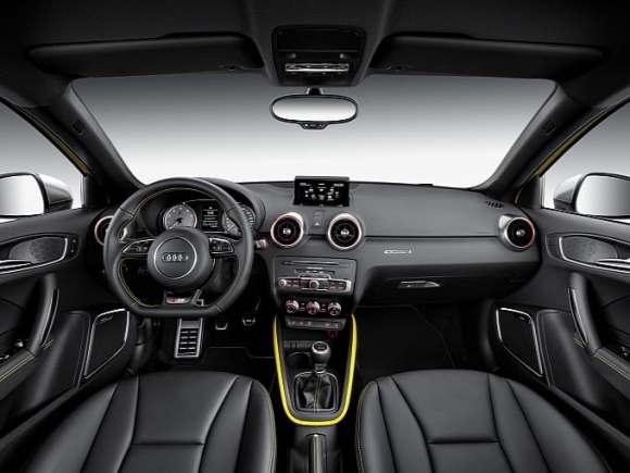 Audi S1 Quattro : intérieur
