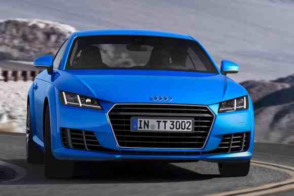 Nouvelle calandre et nouveaux phares : principales nouveautés pour l'Audi TT 2015