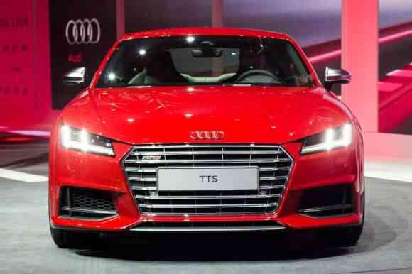 La nouvelle TT 2014 se présente à Genève via une nouvelle face avant et un intérieur inédit