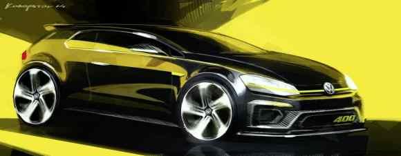 Pekin 2014 - la VW Super Golf 7 R sortirait 400 chevaux-2