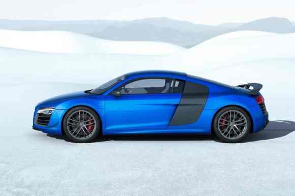 Cette Audi R8 LMX adopte un bleu électrisant !
