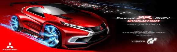 Le concept Mitsubishi XR-PHEV Evolution Vision GT est déjà dispo !