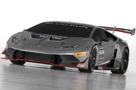 Cette Huracan LP620-2 Super Trofeo sera en compétition dès 2015