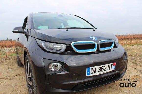 La BMW i3 dans les mains de Guillaume à Pignan !