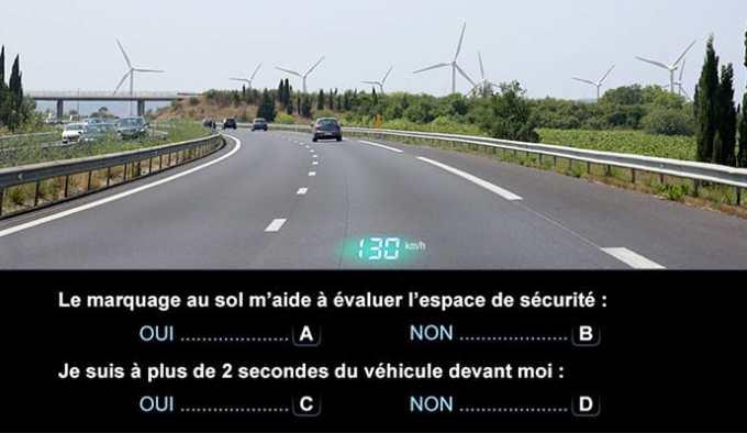 Mise en condition réelle pour cette nouvelle épreuve du code de la route