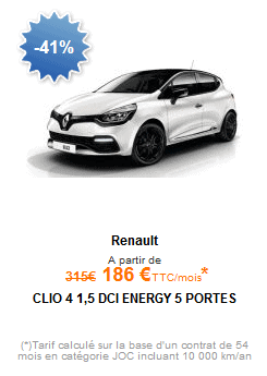 Promo clio leasing o apport