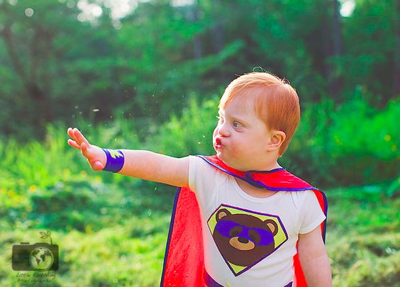 Learn to take beautiful photographs of children with special needs. Inspiring children with special needs photographed as superheroes.