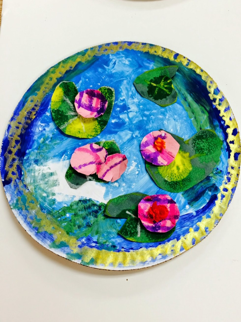 Monet inspired sensory projects for kids with autism. | speciallearninghouse.com